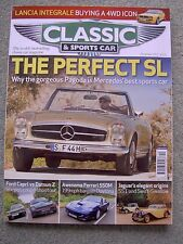 Classic & Sports Car (Dec 2012) 280SL, Delta Integrale, Mini Marcos, Capri, 240Z
