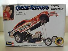 REVELL - GENE SNOW'S REVELL SNOWMAN - CHEVY VEGA FUNNY CAR - MODEL KIT (OPENED)