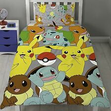 POKEMON catturare Rotary Set Copripiumino NUOVO-Kids Bedding