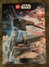 "Original Lego Disney Star Wars Rogue One 23""x16"" Duel Sided Poster ToysRUs Promo"