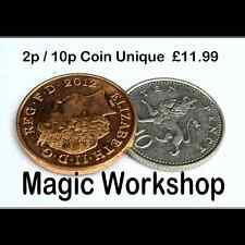 Magic Coin Trick  Coin Unique    Vanishing 10p     2p / 10p coin trick