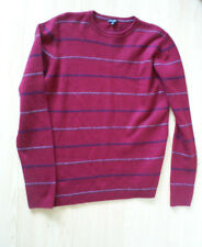 mens Jaeger burgundy  jumper size chest 42""