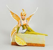SUGAR SWEET STATUE FAIRY LEMON CHEESECAKE CAKE FAIRY FIGURINE ANNE STOKES