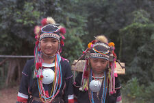 538087 Akha Girls Northern Thailand A4 Photo Print