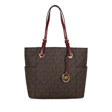 Michael Kors Jet SetTote - Brown/Red