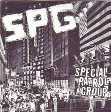 SPG – SPECIAL PATROL GROUP EP punk oi! 7 Seconds HC