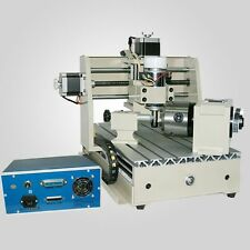 CNC ROUTER ENGRAVER ENGRAVING CUTTER 4 AXIS 3020T 300W CARVING MACHINE MACH3 USA