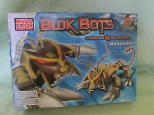 "New in Box Mega Bloks Transforming ""Blok Bots"" Cyborgs vs Mutroids Beastor 9387"