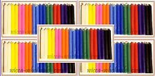 "LOT OF 100 ASST COLOR Chime Spell Candles Mini 4"" Wicca Ritual FREE SHIP NEW #2"