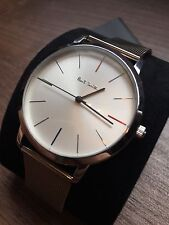 Mens Paul Smith Ma Watch Silver And White One Size BNWT