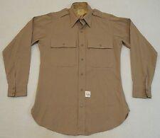 WW2 WWII U.S. Army Officer's Wool Uniform Shirt Medium Size Original Near Mint