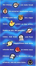 GA Ganzsache Deutsche Post Ich bin umgezogen 1996 m. 1 DM Porto Spreewald BRS304