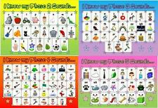 Childminding EYFS Phonics Laminated Poster Pack
