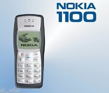 Original Nokia 1100 with Original Battery and Compatible Charger Refurbished