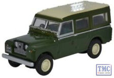76LAN2002 Oxford Bronze Green Land Rover Series II Station Wagon 1/76 OO Gauge