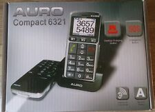 Auro Compact 6321 Mobile Phone for seniors Grey Without Simlock large Buttons