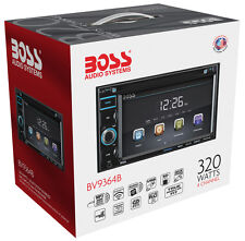 "Boss BV9364B Double DIN Bluetooth DVD Receiver w/ 6.2"" Touchscreen LCD Display"