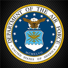 US Air Force Service Seal Military Veteran Graphics Decal Sticker Car Window