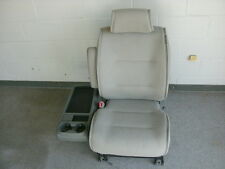 Nissan Quest gray cloth left front seat w/fold down tray