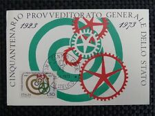 Italia MK 1973 ITALY 1408 beni maximum carta carte MAXIMUM CARD MC cm a8814
