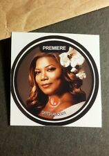 "QUEEN LATIFAH FLOWER IN HAIR SHOW PHOTO SMALL 1.5"" TV GETGLUE GET GLUE STICKER"