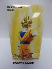 Medicom RAH Dragon Ball Z Super Saiyan Son-Gokou 12 inch Action Figure 100% New