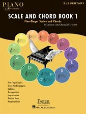 Piano Adventures Scale and Chord Book 1 Five-Finger Scales and Chords  000126033