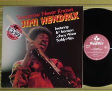 JIMI HENDRIX, TOMORROW NEVER KNOWS /WITH JIM MORRISON, JOHNNY WINTER/ LP EX-/EX-