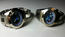 LOT OF 2 VINTAGE JAPAN AUTHENTIC AKA / ALBA BULLHEAD LADIES QUARTZ WATCH