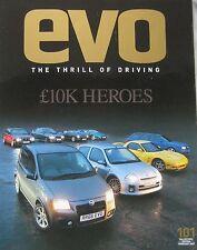 EVO 02/2007 No 101 featuring Ferrari, Bristol, Spyker, Lamborghini, Aston Martin