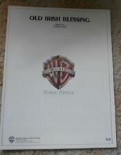 Old Irish Blessing Music by Denis Agay  Sheet Music
