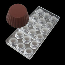 Lampshade Shaped Poly-carbonate Chocolate Mould Candy Jelly Hard Injection Molds