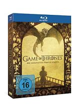 Game of Thrones - Die komplette 5. Staffel [Blu-ray] NEU DEUTSCH Season 5 GoT