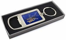 Diving Frog Chrome Metal Bottle Opener Keyring in Box Gift Idea, AR-A6MBO