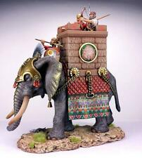 Tin Soldier, collector pain., Fighting African elephant, Carthage, 54 mm
