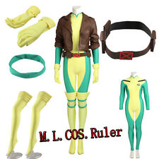 Exclusive X-men Rogue Cosplay Costume Anna Marie Full set Halloween Any Size