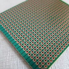 5x Stripboard Prototyping 6.3x7.5cm uncut pcb platine Single Side circuit board