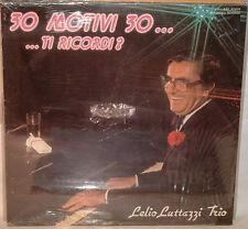 Lelio LUTTAZZI Trio - 30 MOTIVI 30...TI RICORDI ? -  LP Sigillato