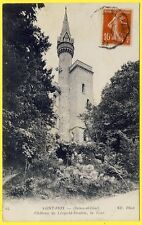 cpa SAINT PRIX (Seine et Oise - Val d'Oise) CHÂTEAU de LÉOPOLD DOUBLE La Tour