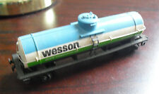 Vintage HO Scale Tyco Wesson Vegetable Oil 9876 Tank Car LOOK
