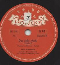 Peter Alexander singt Dean Martin auf Deutsch : The Naughty Lady Of Shady Lane