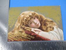 Antique Trade Card Glenwood Ranges & Heaters Perfect With Faultless Record S3353