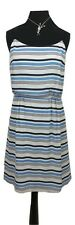 NEXT Dress Size 10 Blue & White Stripe NEW w/TAG Nautical Evening Summer Holiday