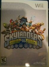 Skylanders Swap Force Video Game Only (Nintendo Wii, 2013) Works on WiiU Too!