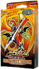 Dragunity Legion 1st Structure Deck YuGiOh English Sealed *Play Mat +Rule Book*A