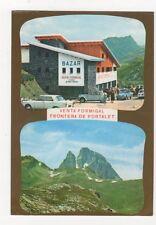 Venta Formigal Frontera de Portalet 1976 Postcard France 559a