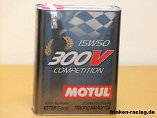 12,85€/l Motul 300V 15W-50 Competition 2 Ltr