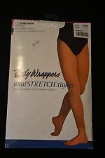 BODY WRAPPERS + TOTAL STRETCH TIGHTS + FOOTLESS + MODEL C33 + WHITE + 4-7