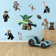Lego Star Wars Wall Sticker Removable Vinyl Art Home Decal Boy Kid Room Decor