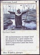 1x Slightly Played Consecrate Land MTG Unlimited -ChannelFireball-